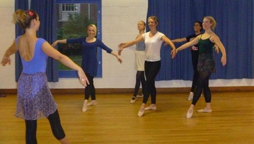 essayez le cours d butant pour adultes en danse classique